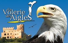 """Publicité pour """"La volerie des aigles"""" à Kintzheim, Alsace (Static Phil) Tags: publicité advertising alsace lavoleriedesaigles kintzheim"""