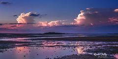 WP6 (Karen Duffy PhotoArt) Tags: wellingtonpoint redlands sunset clouds water bay sea blue sky pink mauve queensland australia
