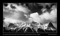Mt. Lawrence Grassi with Ship's Prow (L) and Ha Ling Peak (R) from Canmore, Alberta (kgogrady) Tags: halingpeak landscape mtlawrencegrassi shipsprow winter canmore alberta canada acros 2017 blackandwhite canadianlandscapes blackwhite canadianrockies bowvalley cans2s canadianrockieslanscape albertalandscapes bw canadianmountains ab clouds westerncanada fujifilmxt2 fujinon xt2 xf18135mmf3556oiswr fujifilm mountains mountlawrencegrassi nopeople peaks noone picturesofalberta photosofalberta photosofcanmore picturesofcanmore rockymountains