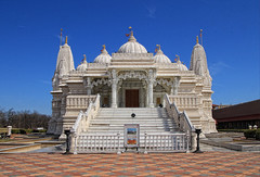 BAPS Shri Swaminarayan Mandir (LotusMoon Photography) Tags: bapsshriswaminarayanmandir bartlett illinois building temple architecture annasheradon lotusmoonphotography details stairs cultural hinduism indian worship prayer sacred ceremonies hinduphilosophy canon mandir
