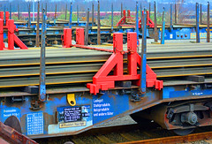Rail for export from Scunthorpe (robmcrorie) Tags: scunthorpe iron steel appleby frodingham rps brave van tour works british export