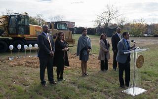 MMB@Deanwood Hills, a New Communities ProjectGroundBreaking.11.15.16.Khalid.Naji-Allah (8 of 27)