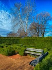 Morton Arboretum (architekt2) Tags: mortonarboretumlandscape benches bluesky