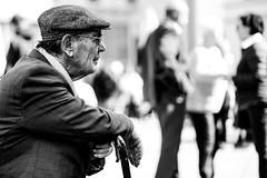 A very gently grandpa (AlphaAndi) Tags: monochrome menschen menschenbilder mono leute people personen portrait urban trier tiefenschärfe blackandwhite blackwhite bw bokeh bokehlicious deepoffield dof fullframe vollformat city closeup sony streetshots schwarzweis street streetshooting streets streetportrait sw sonya7ii streetphotographie strase strasenleben streetlife