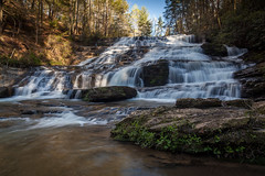 Brasstown Cascades (John Cothron) Tags: 5dmarkii 5d2 5dii 5dmkii americansouth brasstowncascades brasstowncreek brasstownfalls cpl canoneos5dmkii cothronphotography distagon2128ze distagont2821ze dixie francismarionnationalforest johncothron oconeecounty palmettostate southatlanticstates southcarolina southernregion sumternationalforest thesouth us usa unitedstatesofamerica westminster zeissdistagont2821ze circularpolarizingfilter clearsky environment falling flowing forest landscape lateafternoon longexposure nature outdoor outside protected rock scenic shadow spring sunny water waterfall img10872130413 ©johncothron2013