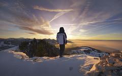 Z (ツ French | Portrait & Adventure ✔) Tags: d810 landscape sunset sunfall sky draw colorfull clouds orange blue lake leman hautesavoie 14mm 1424mm nikon kirawashere