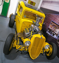 Ford Hot Rod (that Geoff...) Tags: ford car cars auto autos automobile automobiles custom hotrod yellow canon g7x coventry transportmuseum westmidlands gb uk greatbritain unitedkingdom