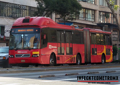 Volvo BRT 7300 Metrobus 331 (infecktedbusgarage) Tags: volvo 7300brt busrapidtransit metrobus ciudaddemexico volvo7300 articulado camion autobus bus mexico mexicanbus brt reddetransportedepasajerosdeldf rtp m1 movilidad1