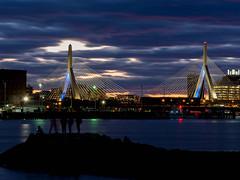 P4081237 (WillySit) Tags: zakim bridge zakimbridge boston skyline eastboston shadow silouhettes