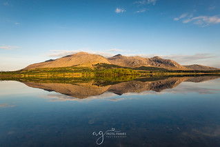 Lough Inagh reflections