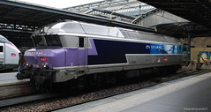 SNCF 272189 / Paris Gare de L'est (Sammy4044) Tags: train trains sncf paris gare de lest rail railway station class 15000 z 50000 272 loco france may 2017