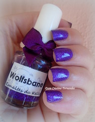 Passe Nati-Atena + EDK-Wolfsbane (Dora Cristina Fernandes) Tags: indienailpolish edk glitter vernizroxo purplenailpolish esmaltes artisticnails nagellack naillacquer nailpolish nails smaltoperunghie vernisàongles lacadeunas unhasdecoradas unhasartísticas