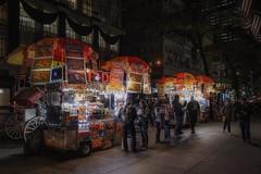 everyday scenes (karinavera) Tags: travel sonya7r2 street people view walking fifthave newyork night