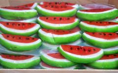 Trapani, Via Serisso, Pasticceria Cinzia, Marzipan-Melonen (HEN-Magonza) Tags: trapani sizilien sicily sicilia italien italy italia fruttamartorana viaserisso pasticceriacinzia marzipanfrüchte marzipanfruit melone melon