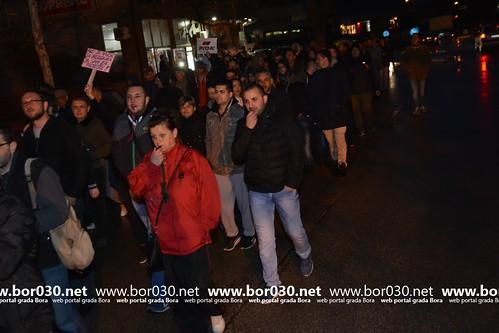 Protestna šetnja u Boru (07.04.2017)