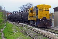NWR 4219, Clifton Ave, 04-03-17 (mikeball1374) Tags: ge nashvillewestern longhood forward nashville railfanning railroad train trainphotography transportation nwr photography tennessee