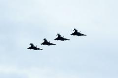 RAF Marham Tornados GR4 at Lossiemouth (paulstevenchalmers) Tags: lossiemouth military base raf royalairforce aircraft jets