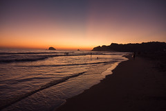 Mazunte Zipolite Beach sunset Mexico