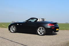 BMW Z4 Shoot (stevenkautomotive) Tags: carphotography bmw z4 car sportscar landscape canon eos1300d bmwz4 black beige sportcar road sun sky interior holland netherlands groningen