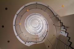 Zürichhaus Hamburg (Elbmaedchen) Tags: staircase stairs treppenhaus treppenauge roundandround helix escaliers architektur architecture zürichhaus