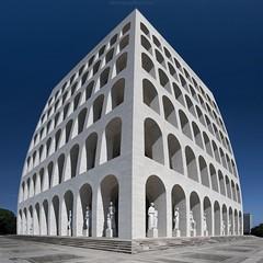 [Distopia] (Roberto -) Tags: palazzo civiltà italiana roma eur rome colosseo quadrato architecture nikon d3200 tokina 1120