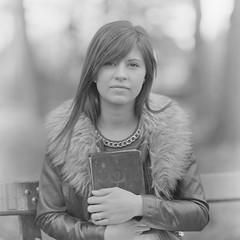 (Attila Pasek) Tags: 14inchf63 8x10 commercial ilford kodakektar ortho vds vdscameramanufactory bw blackandwhite book camera film girl largeformat portrait read woman