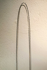 Tension (Jani M) Tags: abstract minimal wall shadow chain tension