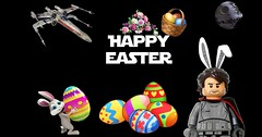 Happy Easter everyone! (KevFett2011) Tags: happy easter kevfett2011 lego art artist hobby builder wish 2017 bricks