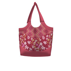 Smile & Wave Tote   #SAGE - Pretty Pink Purse Sprout Patterns (mom_de_bomb) Tags: sage surfaceartistsguildofexcellence fabricaddict sewing sew textiledesign sproutpatterns spoonflower thedailyseam sprout pdfpattern indiedesigners sewingpattern patterns isew fabric surfacedesign textiles