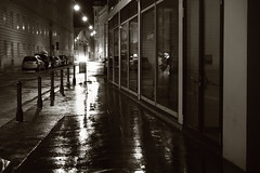 Another rainy night (No_Mosquito) Tags: vienna austria city centre night lights rain canon powershot g7x mark ii urban wet reflections street dark