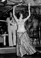 """Athens Bar and Grill Houston 1981 (Texas.713) Tags: athens bar greeks sailors dancers greek restaurant houston texas belly dance dancer clinton drive ship channel athensbargrill hot long hair woman girls vintage dancing cave grill longshoremen saylor """"athens grill"""" gypsy entertainers bellydance sexy ladies performers mediterranean sailor"""