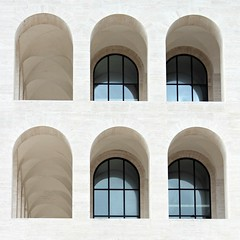 Colosseo Quadrato (fotovisiva) Tags: fotovisiva roma rome colosseo colosseoquadrato palazzodellaciviltàitaliana quadratodellaconcordia quadrato eur architettura architecture museo museum explore