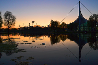Munich - Olympiapark Dusk
