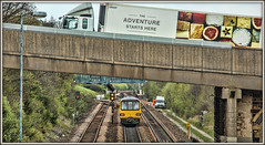 Fasten your seat belts? (david.hayes77) Tags: class144 144003 brightside southyorkshire 2017 2r69 theadventurestartshere dmu northern jenkinroad pacer yorkshire