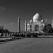 Black & White Taj Mahal