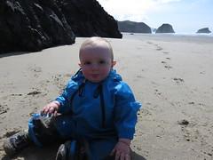 beach boy (carolyn_in_oregon) Tags: crescentbeach cannonbeach pacificocean ecolastatepark coast jacob