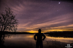 TomHannock Reservoir (Photon-Huntsman) Tags: sony sonyalpha sonya6000 12mm f2 rokinon outdoor purple sunset night jupiter stars star sky skyline water reservoir lightroom newyork light lights naturallight cloud clouds cloudy depth landscape pink old new red wow