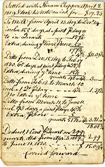Nineteenth page of the Cambridge Milk Dealer Account Book (Cambridge Room at the Cambridge Public Library) Tags: cambridgemass commerce milk business accountbooks milkdelivery