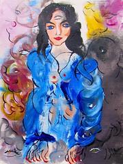 HEUREUSE (Claude Bolduc) Tags: artsingulier outsiderart surrealism intuitiveart visionaryart teen lowbrow artcollectors