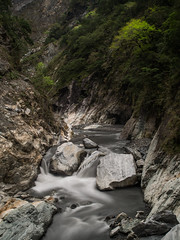Taroko gorge (JeroenTeunissen) Tags: taroko canyon marble water river long exposure ndfilter taiwan