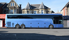 Frank Turner & The Sleeping Souls MM Bandservices Tour Bus A11 ESY (5asideHero) Tags: frank turner the sleeping souls tour 2017 mm band services ltd van hool td921 altano transport bus sleeper coach nightliner a11 esy
