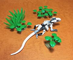 LEGO Mech Lizard-08 (ToyForce 120) Tags: lego robot robots mecha mech mechanic legomech legomoc