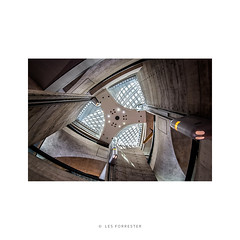 Three Points (Les Forrester) Tags: europe architecture interiors architectural colour lookingup star threepoints history