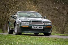 Aston Martin Virage Coupe (Lukas Hron Photography) Tags: aston martin virage coupe first piece made 1st první vyrobený kus czech republic česká republika hotel orlík orlická přehrada