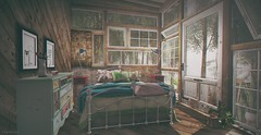 The sun invaded the bedroom  window (fernando90 magic (Fatal Seduction)) Tags: cosmopolitan portrait photo photography photoshop photographer secondlife game 3d dollhouse kraftwork plaaka 8f8 rh applefall