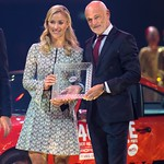 Angelique Kerber and tournament director