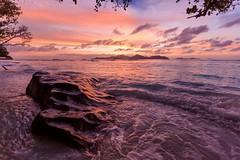 La Digue, Seychelles (motivsucher) Tags: ansesevere sonnenuntergang sunset ladigue holidays urlaub strand beach