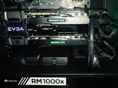 EVGA nVidia GTX 1080 Sli (gdalberto90) Tags: modding mod rig evga power corsair nvidia intel ssd overclock gtx geforce 1080ti fps gaming gamers game case computer hardware component sli rm1000x