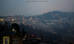 Evening on Hills (MashrikFaiyaz) Tags: sky city hills mountains evening citylights buildings house darjeeling india asia south southasia nikon d5300 spring travel tour urban exploration landscape night incredible flickrunitedaward architectural view cityscape nightscape