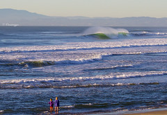 These little girls know what's up (Omnitrigger) Tags: wave waves beachbreak tubingwave wildcalifornia californiacoast norcal barrelingwave